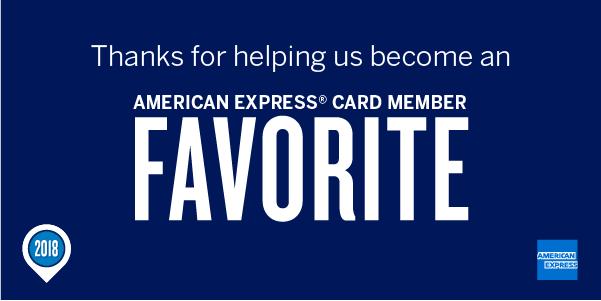 Craig Scott Entertainment- Named 2018 American Express Members Favorite